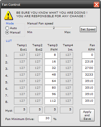 Система охлаждения ноутбука  Изменение скорости вращения вентилятора